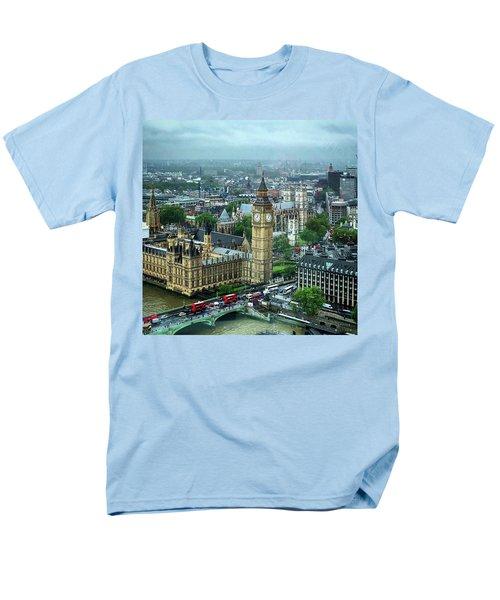 Big Ben From The London Eye Men's T-Shirt  (Regular Fit)