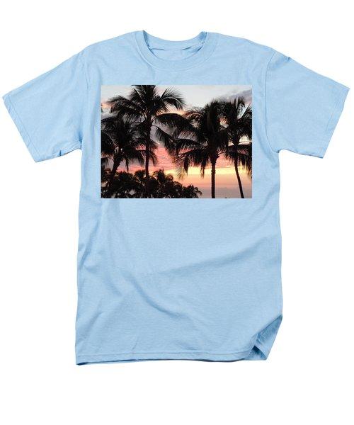 Big Island Sunset 1 Men's T-Shirt  (Regular Fit) by Karen J Shine