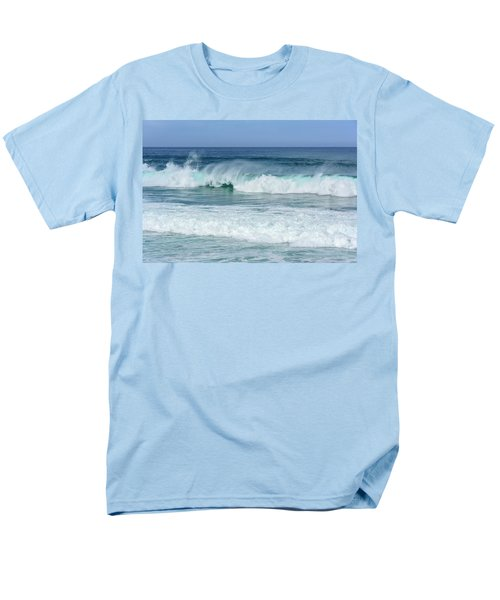 Men's T-Shirt  (Regular Fit) featuring the photograph Big Waves by Marion McCristall