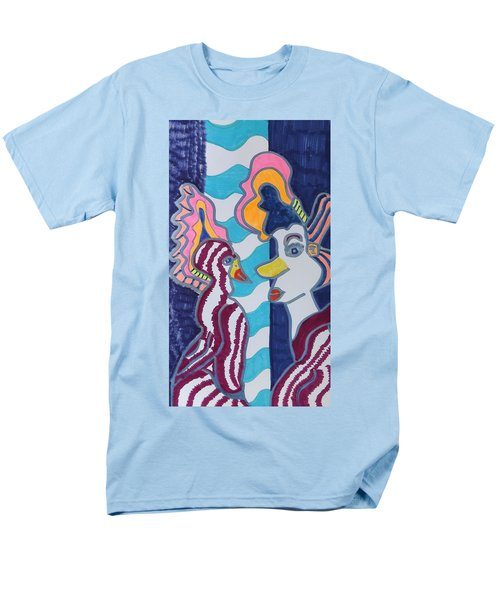 Birds Of A Feather Men's T-Shirt  (Regular Fit) by Don Koester