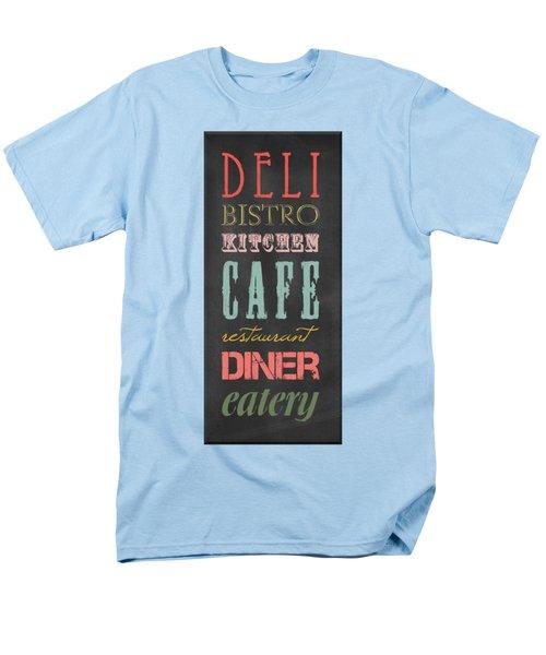 Bistro Cafe Sign Men's T-Shirt  (Regular Fit)