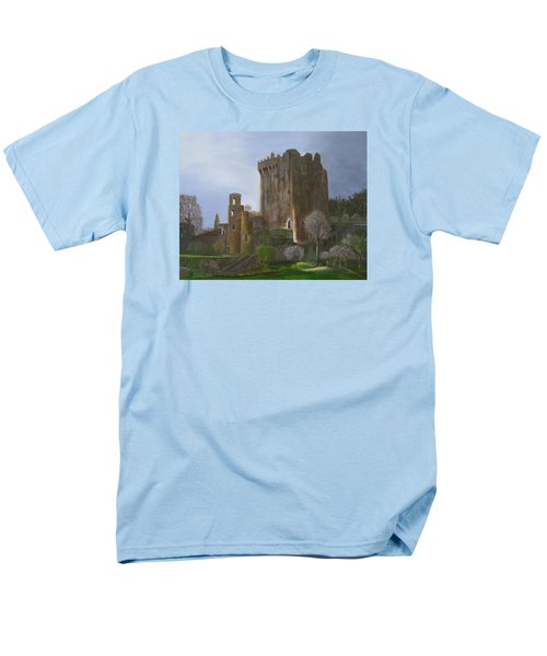 Men's T-Shirt  (Regular Fit) featuring the painting Blarney Castle by LaVonne Hand