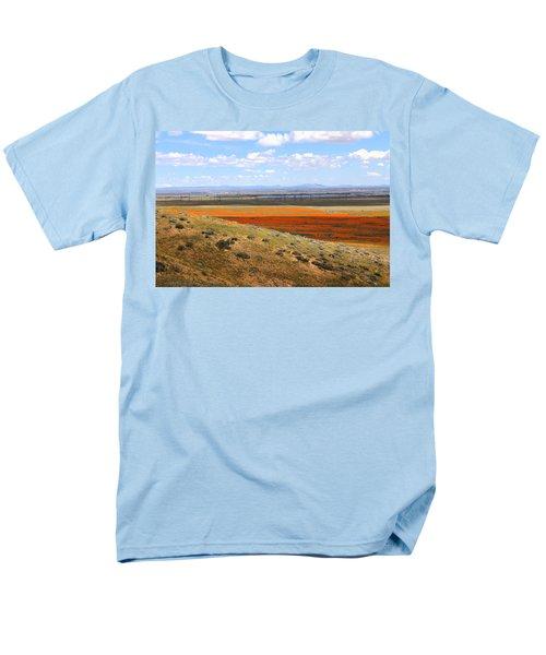 Blooming Season In Antelope Valley Men's T-Shirt  (Regular Fit) by Viktor Savchenko