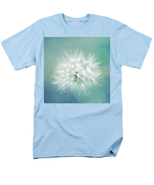 Men's T-Shirt  (Regular Fit) featuring the photograph Blue Awakening by Trish Mistric