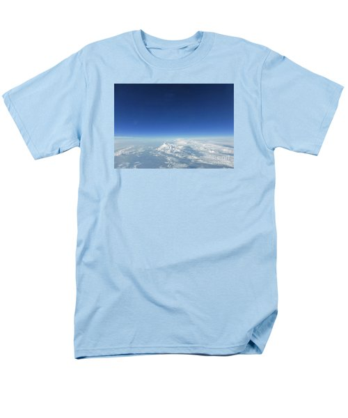 Blue In The Sky Men's T-Shirt  (Regular Fit) by AmaS Art