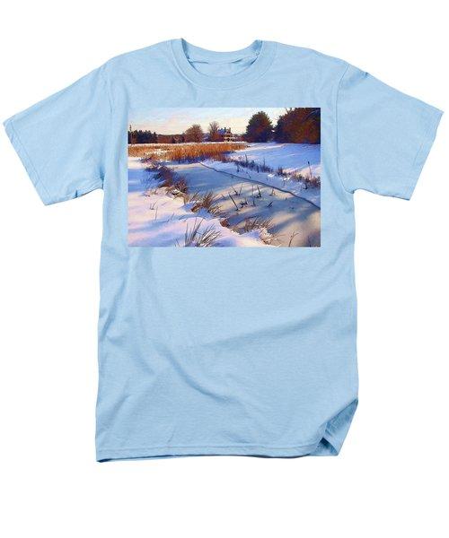 Blue Noon Men's T-Shirt  (Regular Fit) by Betsy Zimmerli