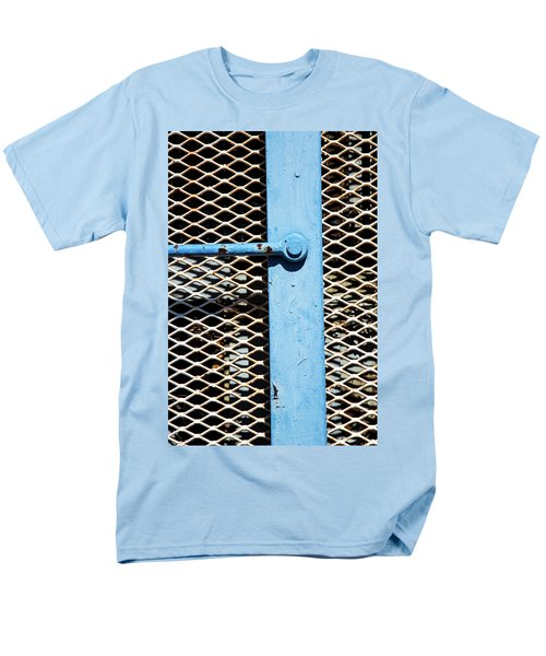 Men's T-Shirt  (Regular Fit) featuring the photograph Blue On White by Karol Livote