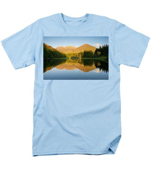 Blue Skies At Torren Lochan Men's T-Shirt  (Regular Fit) by Stephen Taylor