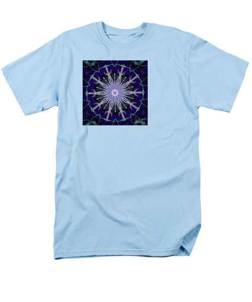 Blue Star Men's T-Shirt  (Regular Fit) by Shirley Moravec