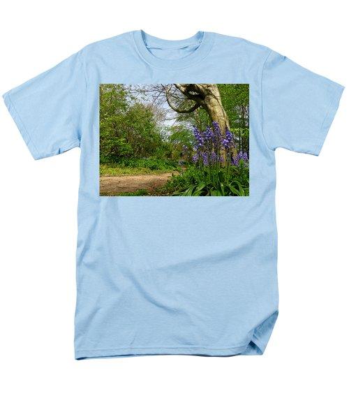 Bluebells By The Tree Men's T-Shirt  (Regular Fit) by John Topman
