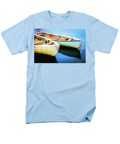 Boats Men's T-Shirt  (Regular Fit) by Andre Faubert
