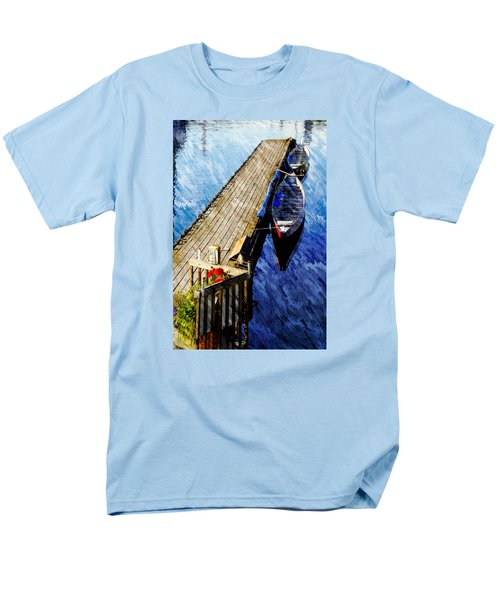 Boats At Rest Men's T-Shirt  (Regular Fit) by Bill Howard