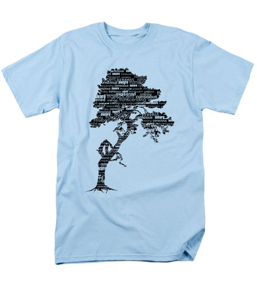 Bodhi Tree Of Awareness Men's T-Shirt  (Regular Fit) by Tammy Wetzel