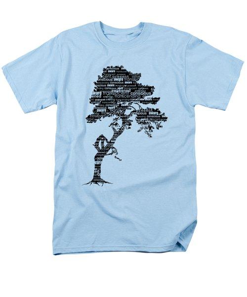 Bodhi Tree Of Awareness Men's T-Shirt  (Regular Fit)
