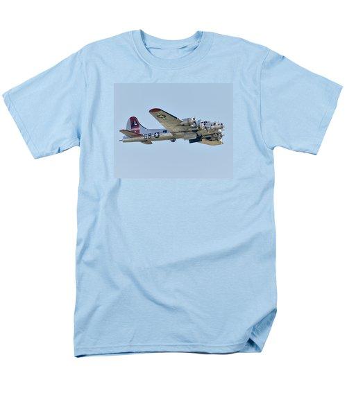 Boeing B-17g Flying Fortress Men's T-Shirt  (Regular Fit) by Alan Toepfer