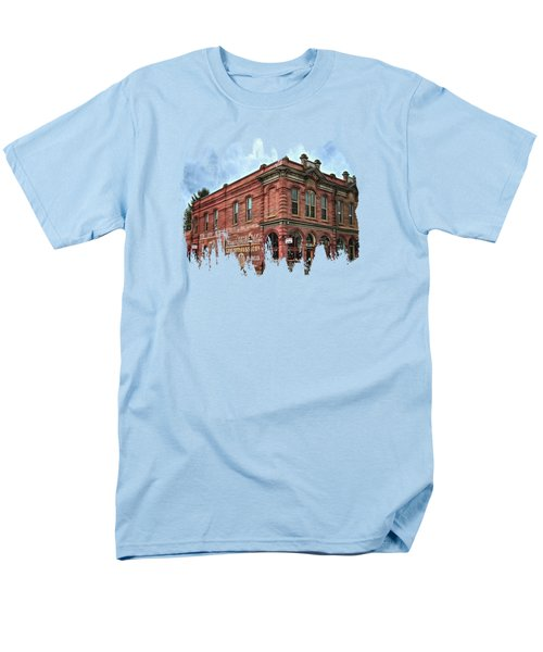 Boomtown Saloon Jacksonville Oregon Men's T-Shirt  (Regular Fit) by Thom Zehrfeld