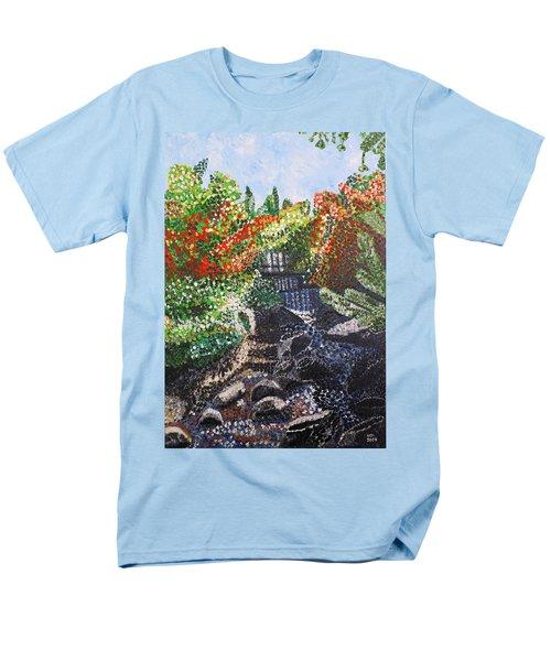 Botanic Garden Merano 1 Men's T-Shirt  (Regular Fit)