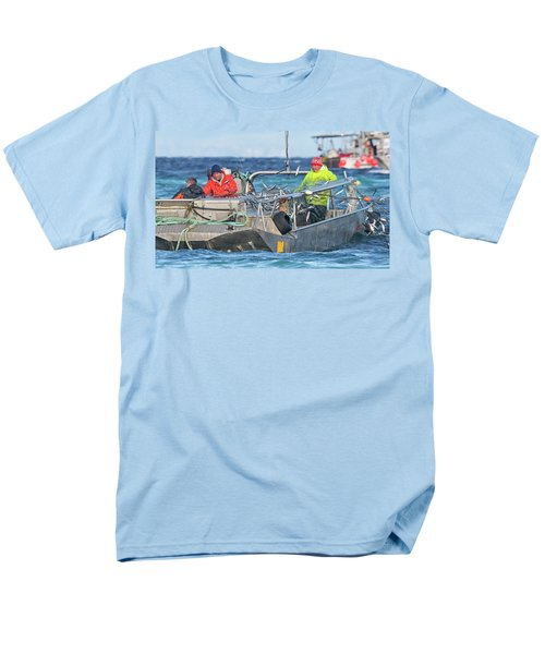 Men's T-Shirt  (Regular Fit) featuring the photograph Bouncing Herring by Randy Hall