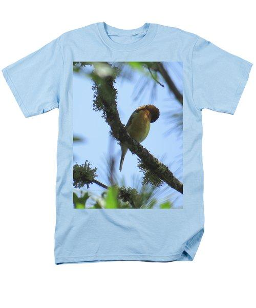 Bird Of Pray - Images From The Garden Men's T-Shirt  (Regular Fit) by Brooks Garten Hauschild