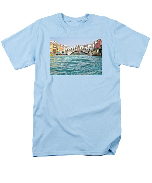 Men's T-Shirt  (Regular Fit) featuring the photograph Bridge In Venice by Roberta Byram