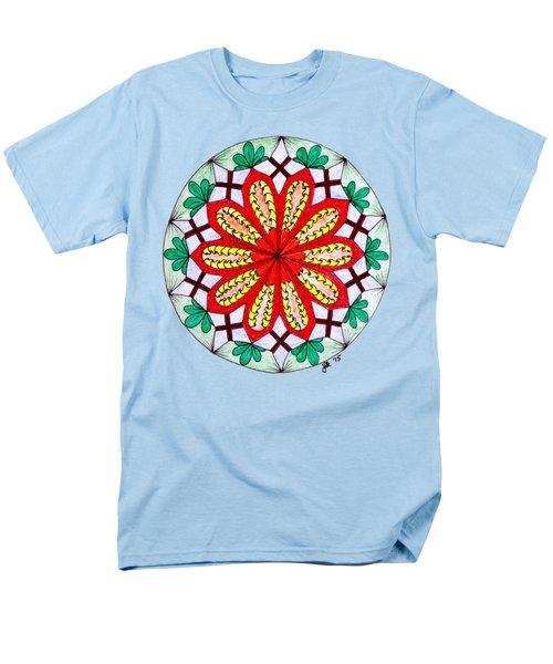 Bright Flower Men's T-Shirt  (Regular Fit) by Lori Kingston