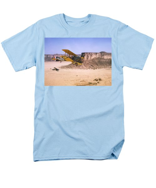 Men's T-Shirt  (Regular Fit) featuring the photograph Bristol Fighter - Aden Protectorate  by Pat Speirs