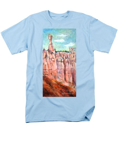 Bryce Canyon #1  Men's T-Shirt  (Regular Fit) by Betty M M Wong