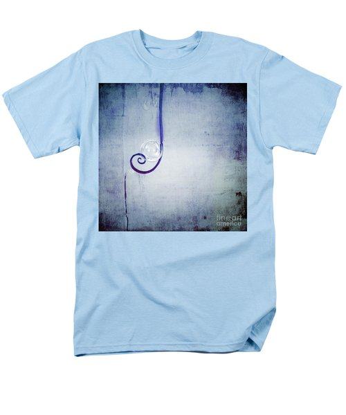 Men's T-Shirt  (Regular Fit) featuring the digital art Bubbling - 033a by Variance Collections