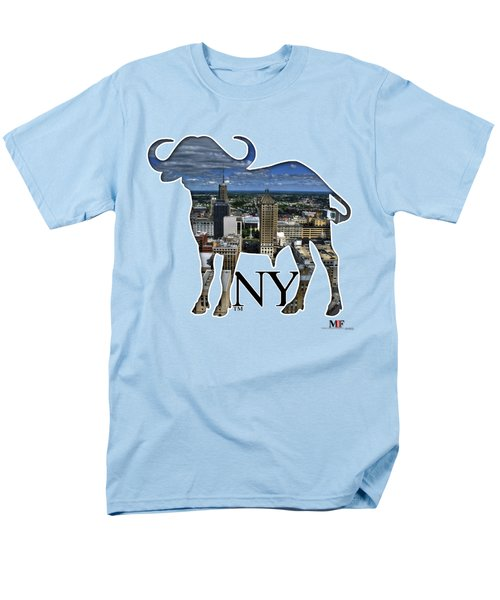 Buffalo Ny Court St Men's T-Shirt  (Regular Fit) by Michael Frank Jr