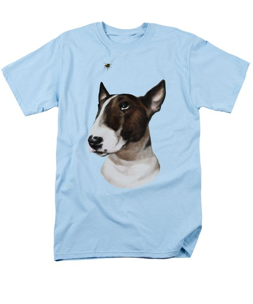 Men's T-Shirt  (Regular Fit) featuring the painting Bully And Bee by Jindra Noewi