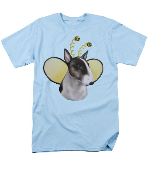 Men's T-Shirt  (Regular Fit) featuring the painting Bully Bee by Jindra Noewi