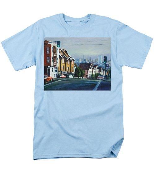 Bush Street Men's T-Shirt  (Regular Fit) by Rick Nederlof