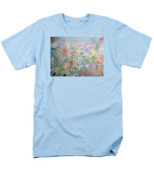 Butterfly Ballet Reflectance Men's T-Shirt  (Regular Fit) by Judith Desrosiers