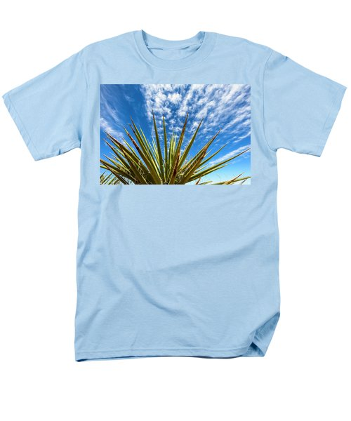 Cactus And Blue Sky Men's T-Shirt  (Regular Fit) by Amyn Nasser