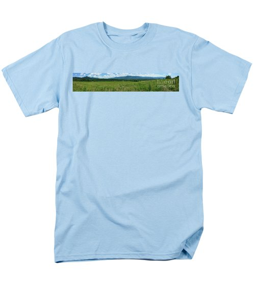 Men's T-Shirt  (Regular Fit) featuring the photograph Cades Valley by Geraldine DeBoer