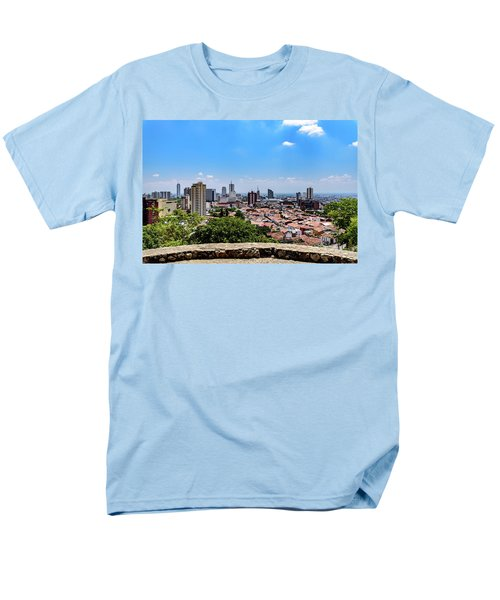Cali Skyline Men's T-Shirt  (Regular Fit) by Randy Scherkenbach