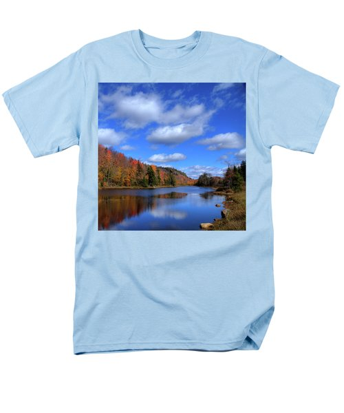 Calmness On Bald Mountain Pond Men's T-Shirt  (Regular Fit) by David Patterson