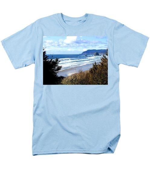 Cannon Beach Vista Men's T-Shirt  (Regular Fit)