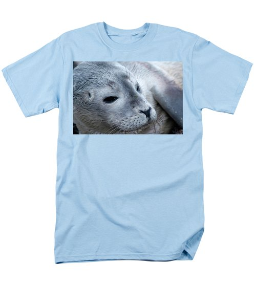 Men's T-Shirt  (Regular Fit) featuring the photograph Cape Ann Seal by Mike Martin