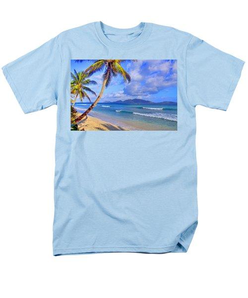 Caribbean Paradise Men's T-Shirt  (Regular Fit) by Scott Mahon