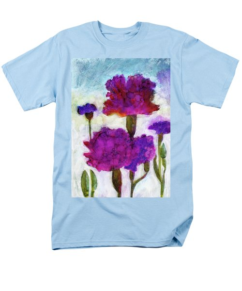 Men's T-Shirt  (Regular Fit) featuring the painting Carnations by Julie Maas
