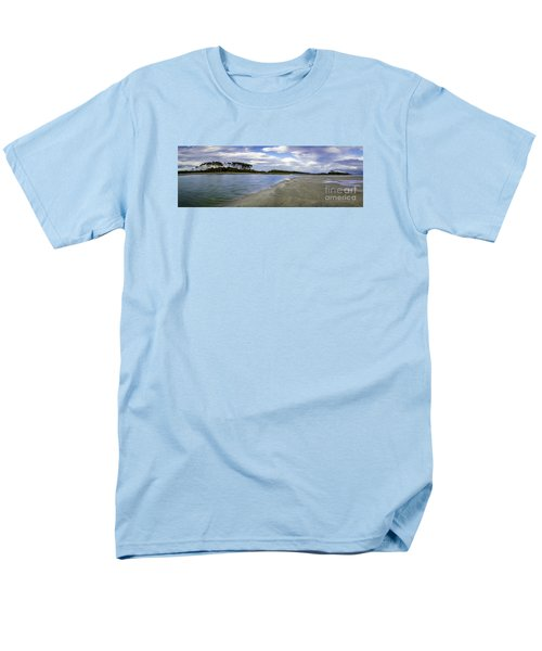Carolina Inlet At Low Tide Men's T-Shirt  (Regular Fit) by David Smith
