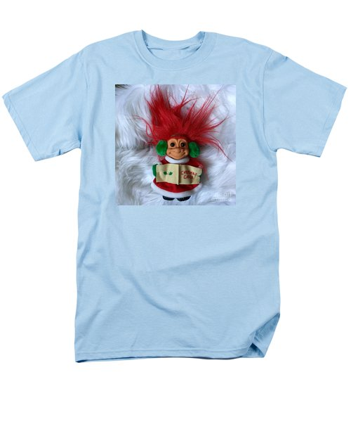 Caroling Troll Christmas 2015 Men's T-Shirt  (Regular Fit) by Patricia E Sundik