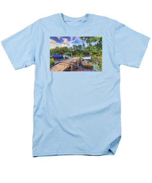 Caroni Swamp Men's T-Shirt  (Regular Fit) by Nadia Sanowar