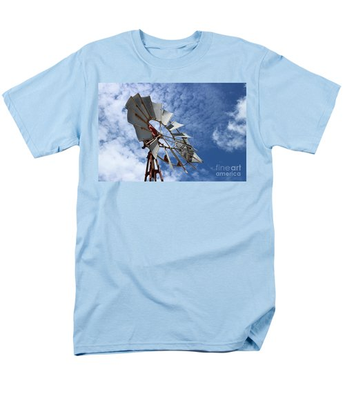 Men's T-Shirt  (Regular Fit) featuring the photograph Catching The Breeze by Stephen Mitchell