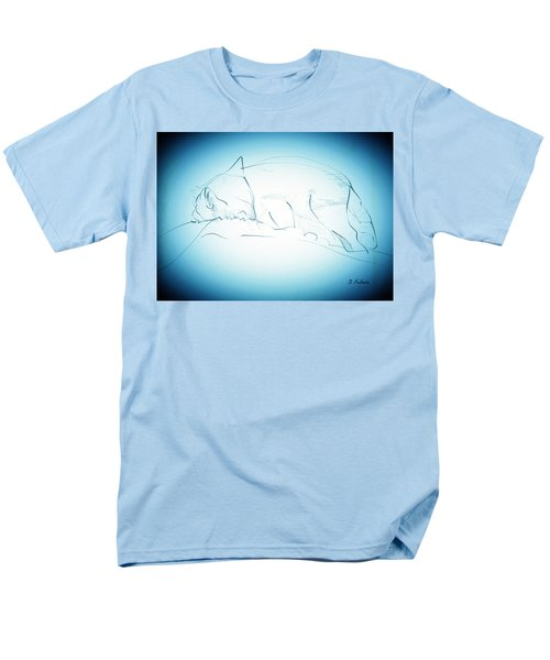 Catnap Men's T-Shirt  (Regular Fit) by Denise Fulmer