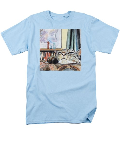 Catnip Men's T-Shirt  (Regular Fit) by Stan Tenney