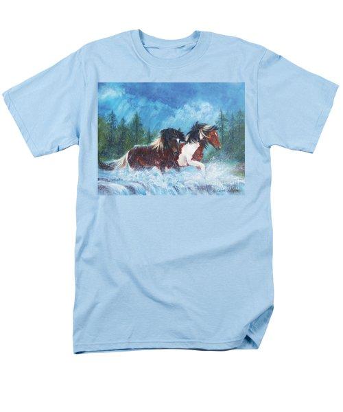 Caught In The Rain  Men's T-Shirt  (Regular Fit) by Karen Kennedy Chatham