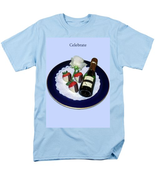 Celebrate  Men's T-Shirt  (Regular Fit) by Sally Weigand