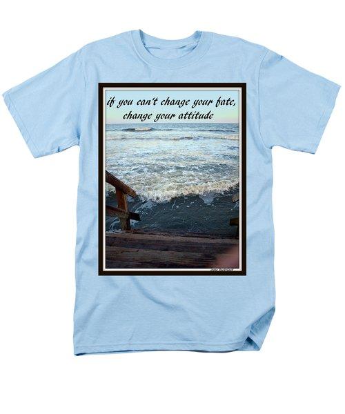 Change Your Attitude Men's T-Shirt  (Regular Fit)